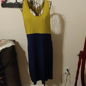 T-Strap Knit Dress